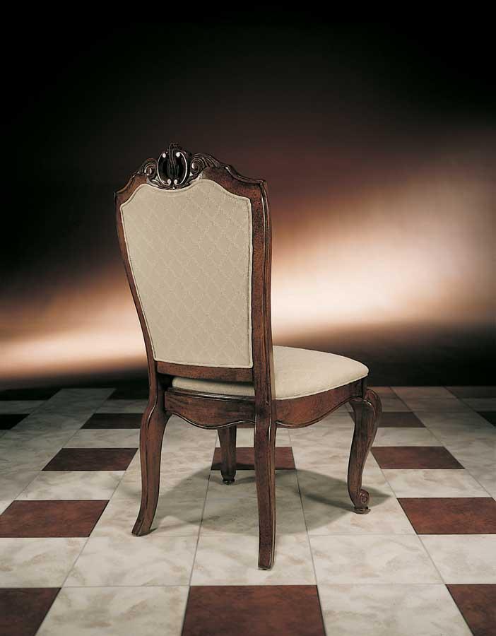 American Drew Bob Mackie Home Upholstered Back Side Chair 662 622