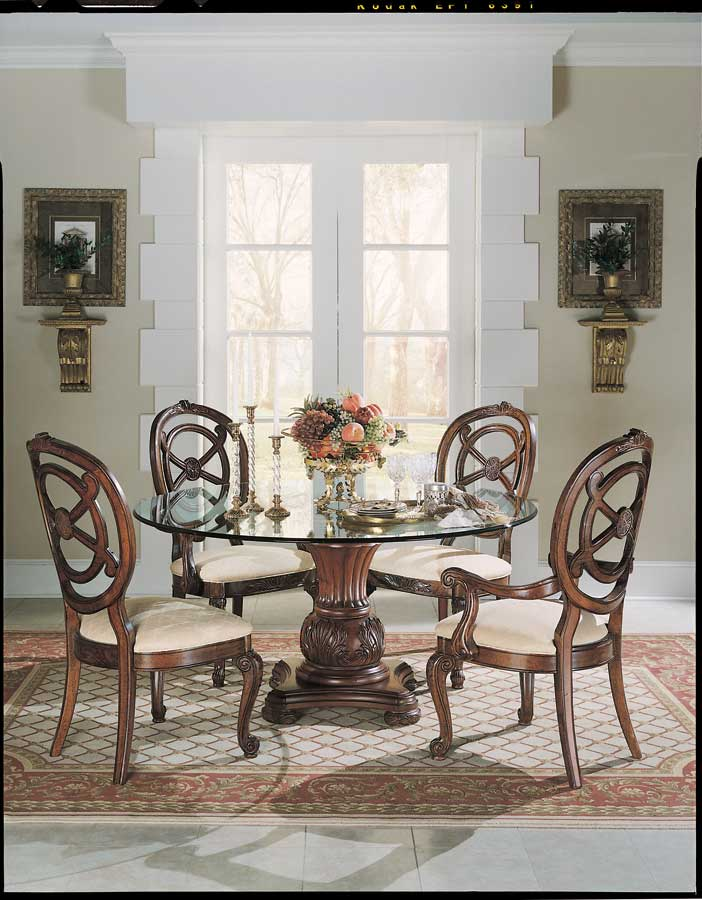 American Drew Bob Mackie Home Round Dining Collection