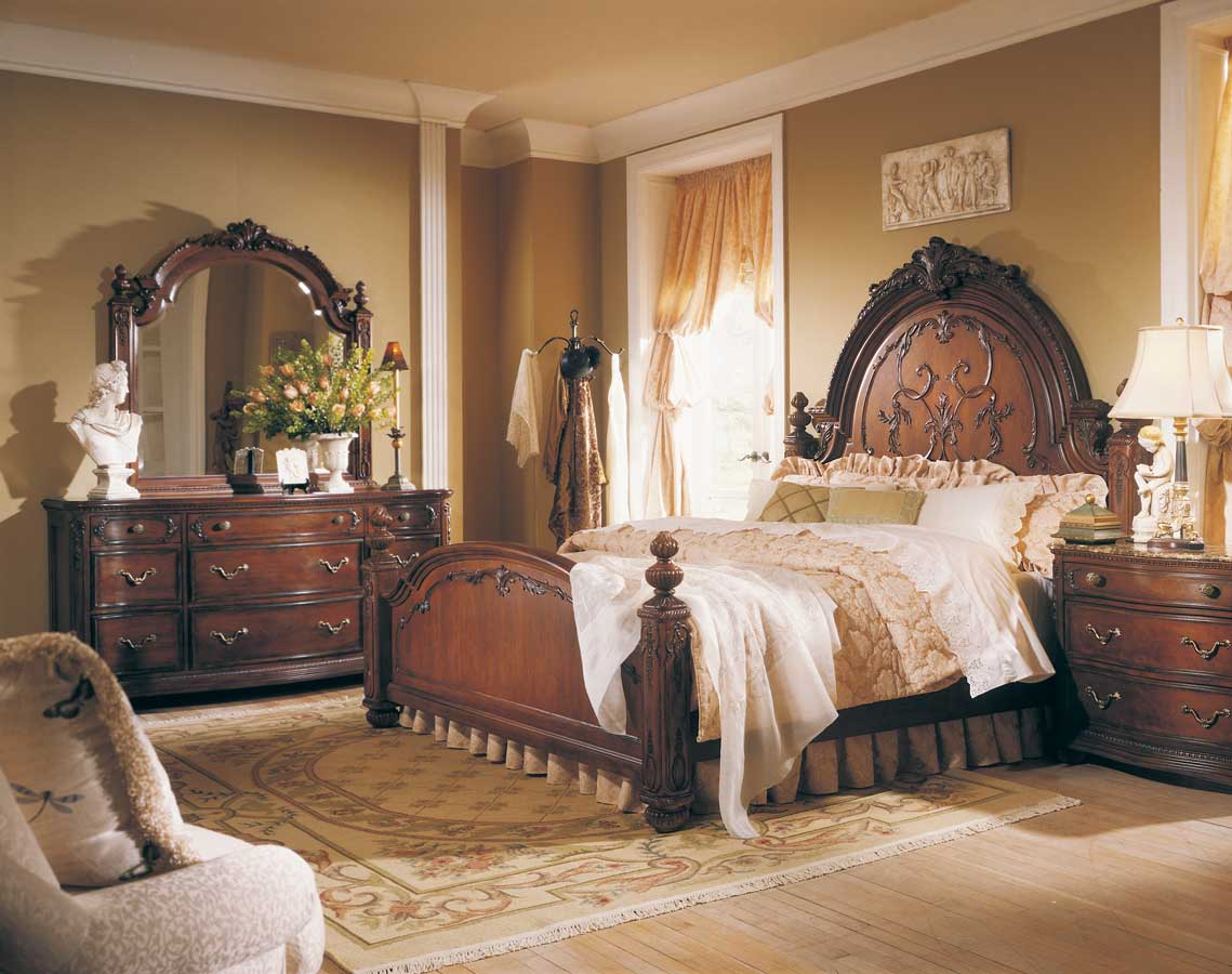 American Drew Jessica Mcclintock Home Romance Bed Bench Buy Bedroom Furniture Online
