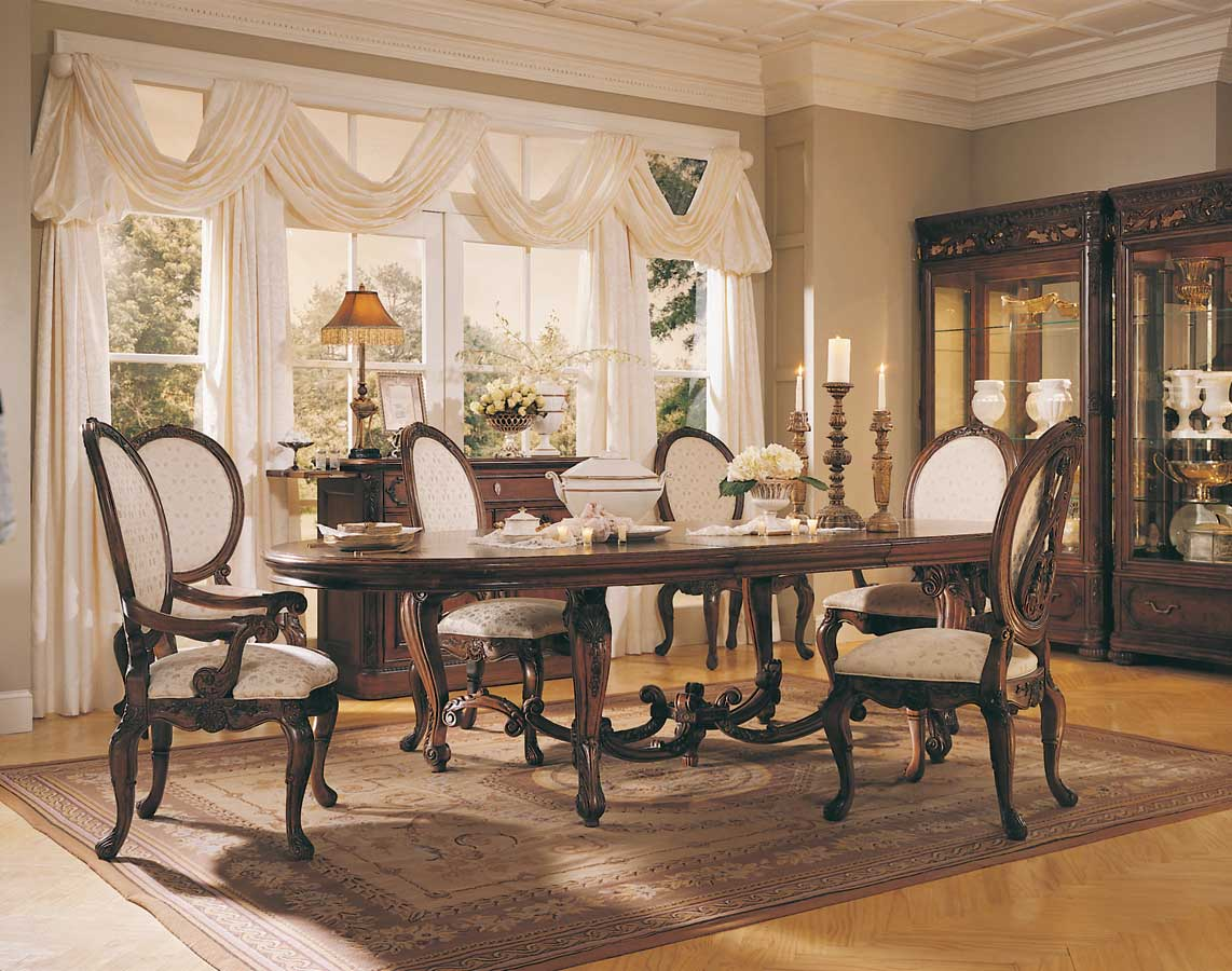 Cheap American Drew Jessica McClintock Home Romance Renaissance Dining Collection