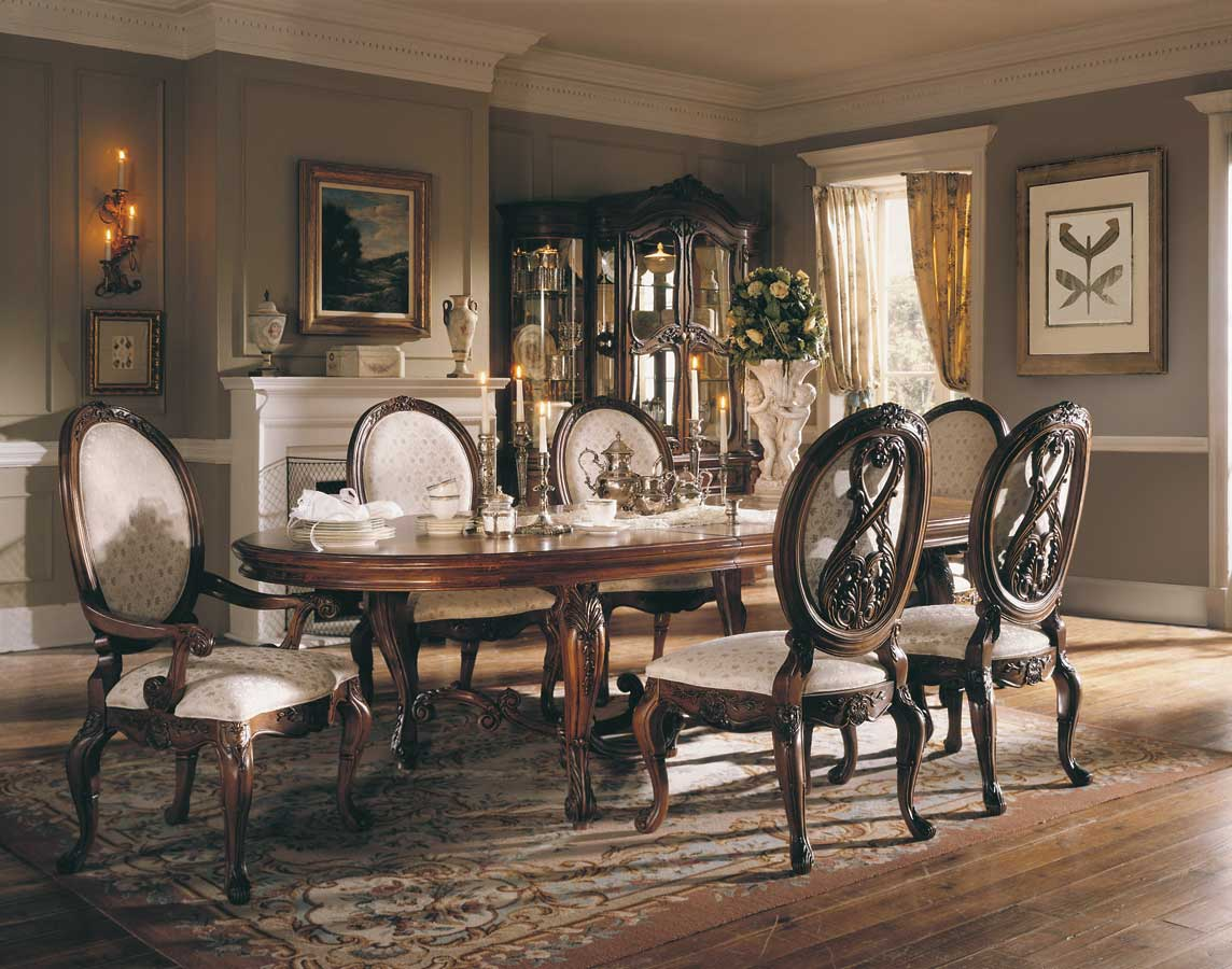 American Drew Jessica McClintock Home Romance Renaissance Dining Table