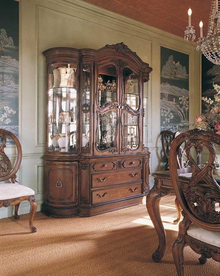 Cheap American Drew Jessica McClintock Home Romance Palladian China Cabinet