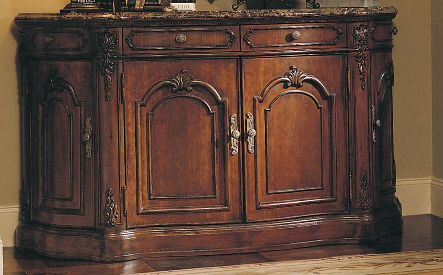 Credenza Dark Brown : American drew jessica mcclintock home credenza dark emperador marble
