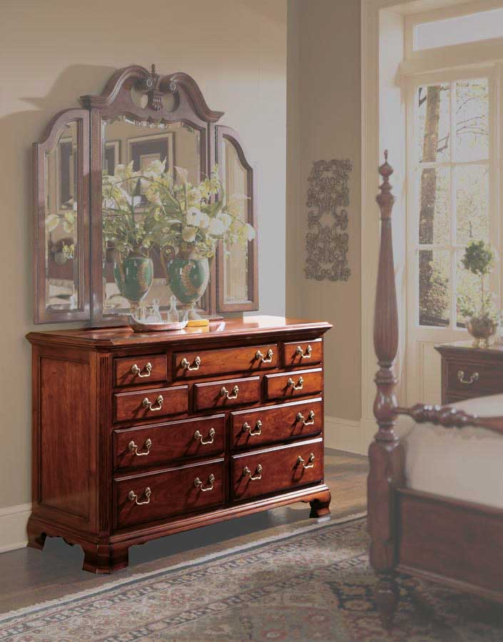American drew cherry grove drawer dresser 791 120 at - American drew cherry bedroom set ...