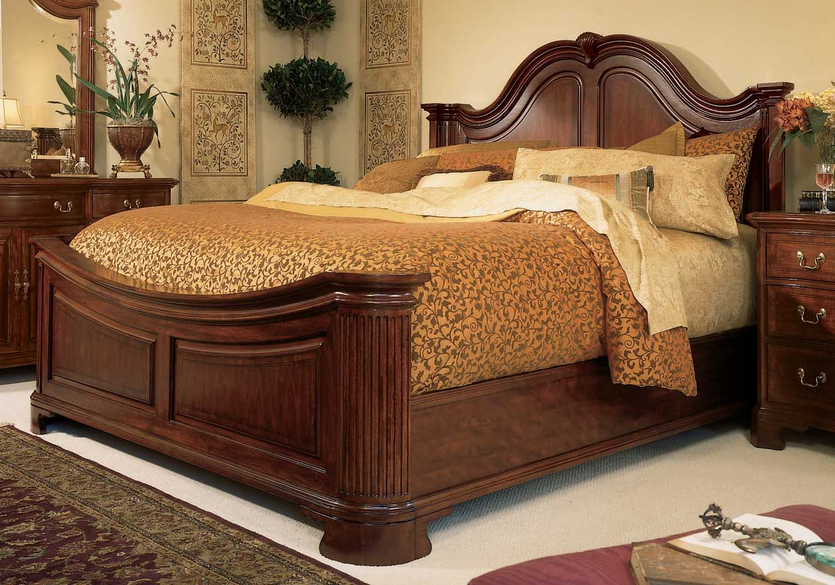 American Drew Cherry Grove Mansion Bed