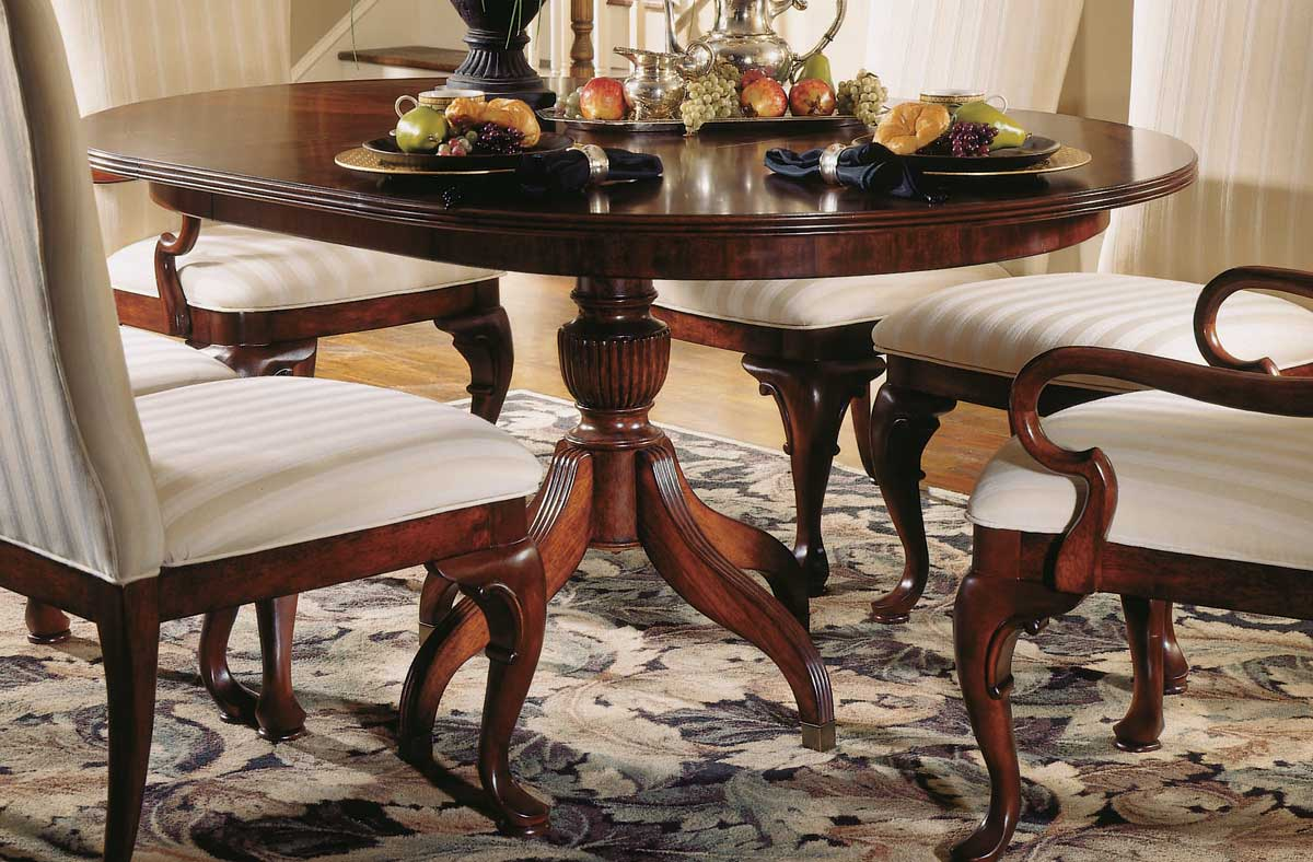 Photo of American Drew Cherry Grove Round Table (Dining Room Furniture, Dining Room Set, Dining Tables, Dining Room Tables)