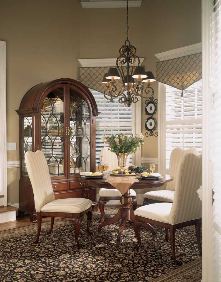 American Drew Cherry Grove Round Dining Collection