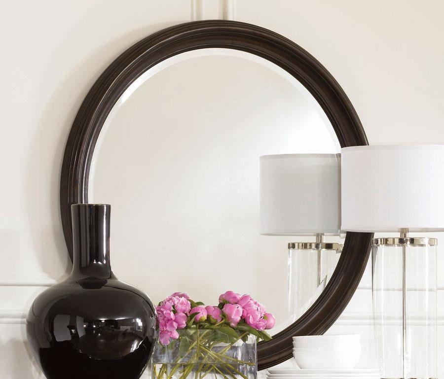 American Drew Sonata Round Mirror