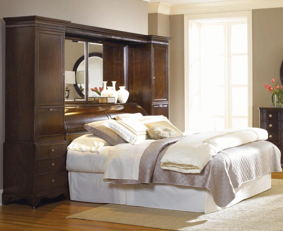 American Drew Sonata Bookcase Bed