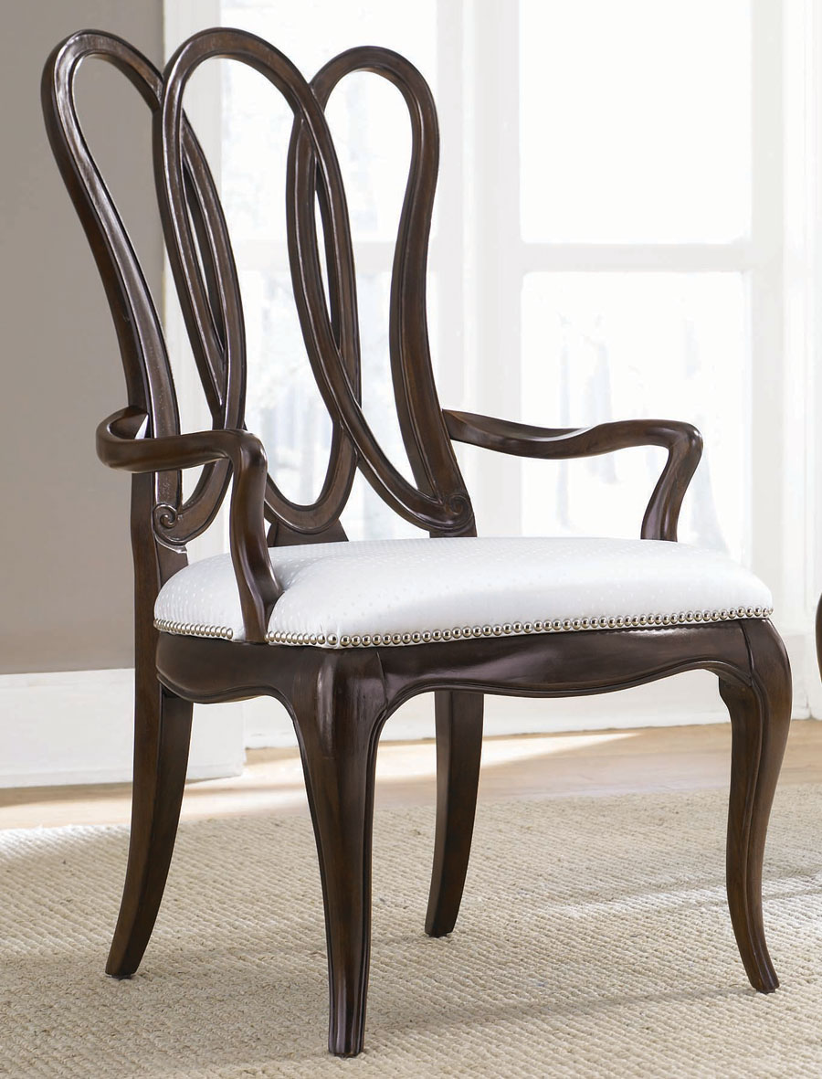 Cheap American Drew Sonata Wood Back Arm Chair