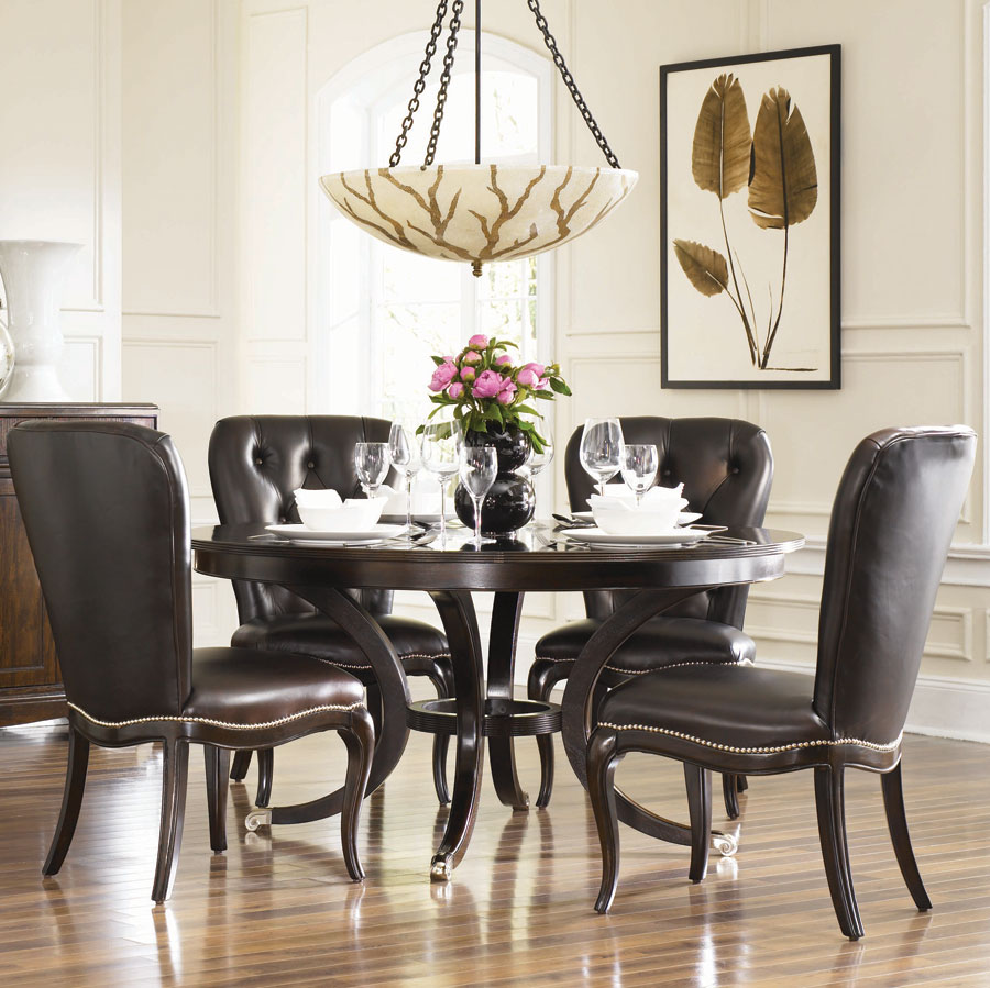 American Drew Sonata Round Dining Collection