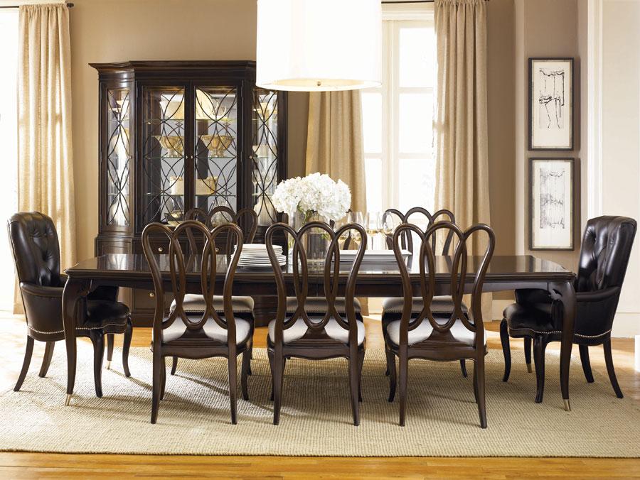 American Drew Sonata Leg Dining Collection