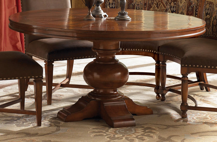 Photo of American Drew European Traditions 60in Round Table (Dining Room Furniture, Dining Room Set, Dining Tables, Dining Room Tables)