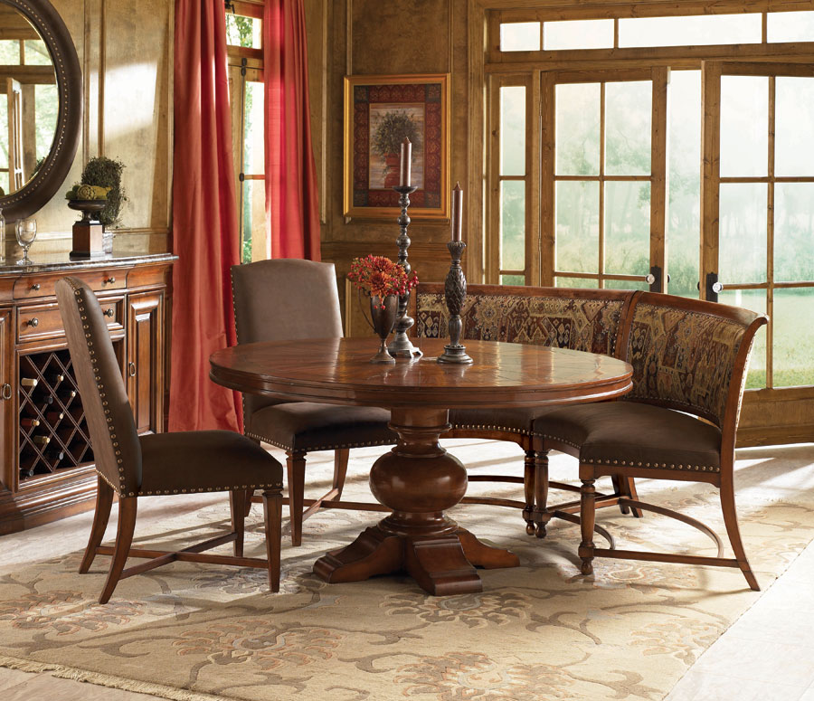 American Drew European Traditions 60in Round Dining Collection D807 702 DIN S