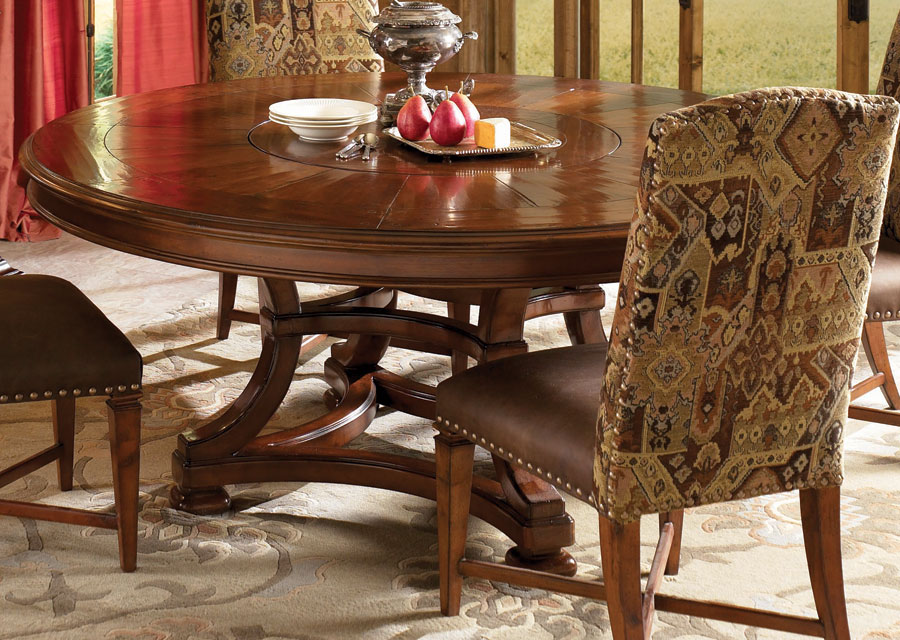 Photo of American Drew European Traditions 72in Round Table (Dining Room Furniture, Dining Room Set, Dining Tables, Dining Room Tables)