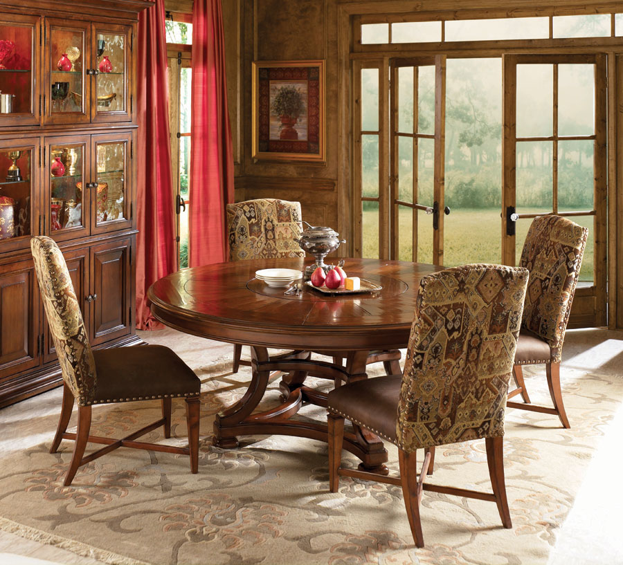 American Drew European Traditions 72in Round Dining Collection