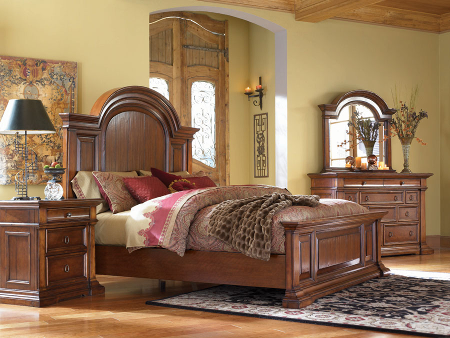 American Drew European Traditions Bedroom Collection B807