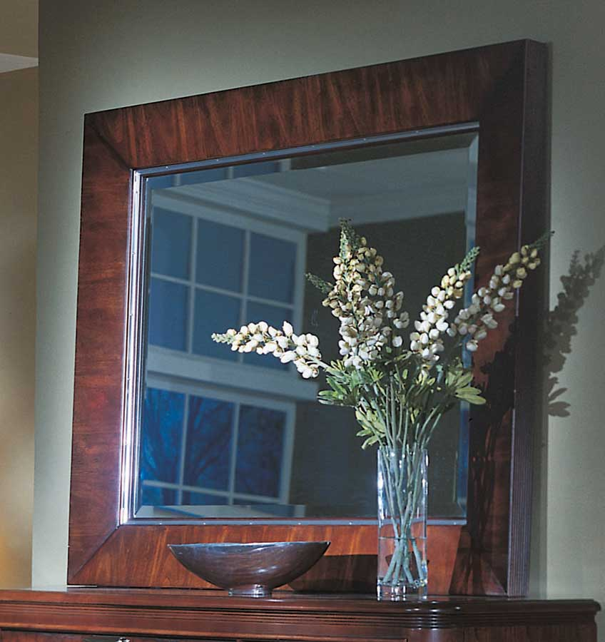 American Drew Advocate Rectangular Landscape Mirror
