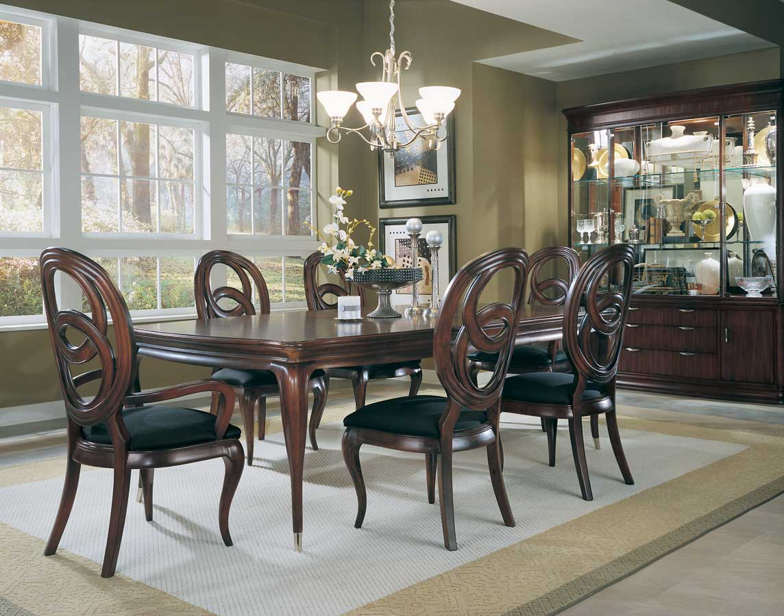 American Drew Advocate Leg Dining Collection