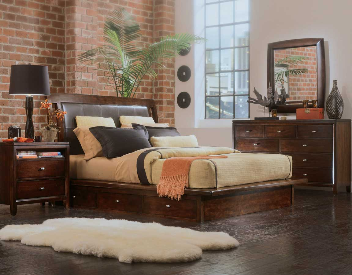 American Drew Tribecca Platform Bedroom Collection