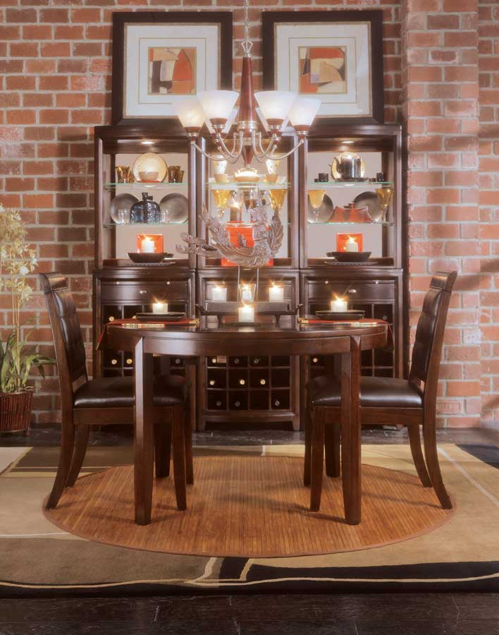 Cheap American Drew Tribecca Round Leg Dining Collection