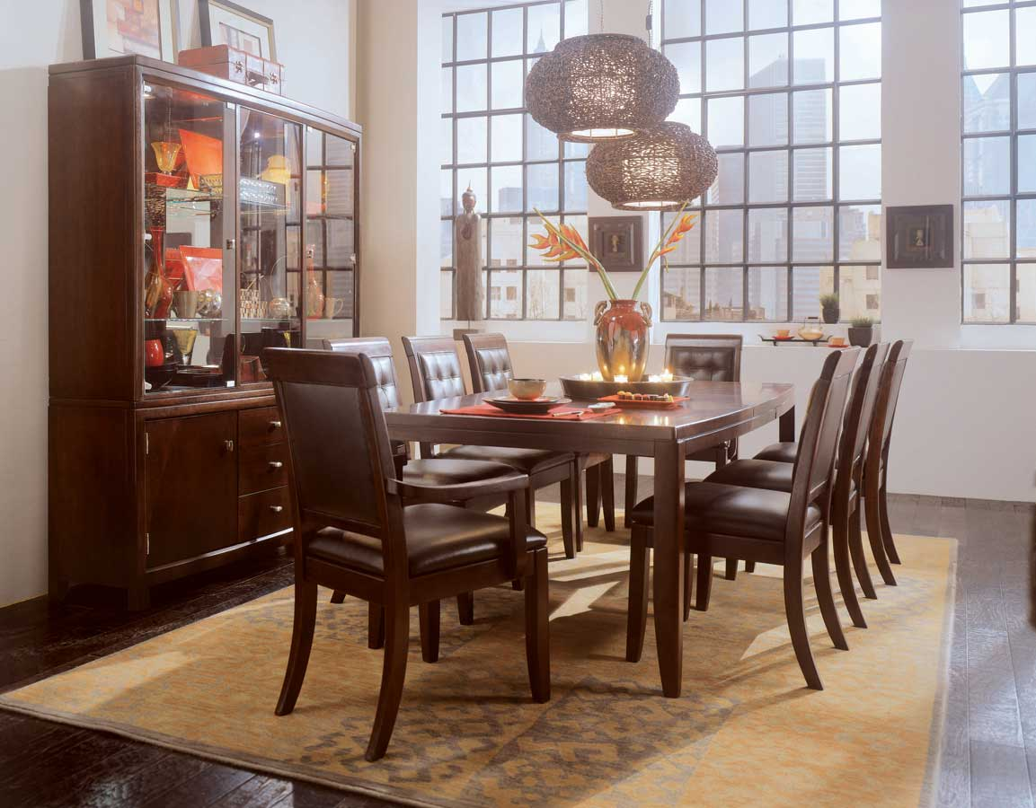 Cheap American Drew Tribecca Leg Dining Collection