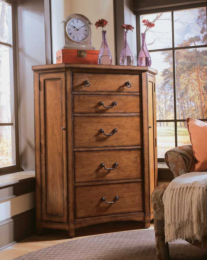 American Drew Beacon Ridge Corner Chest