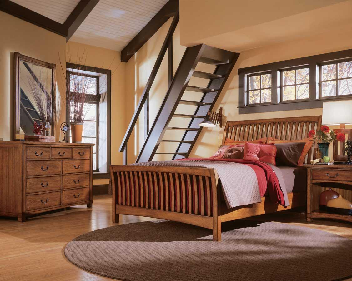American Drew Beacon Ridge Slat Bedroom Collection