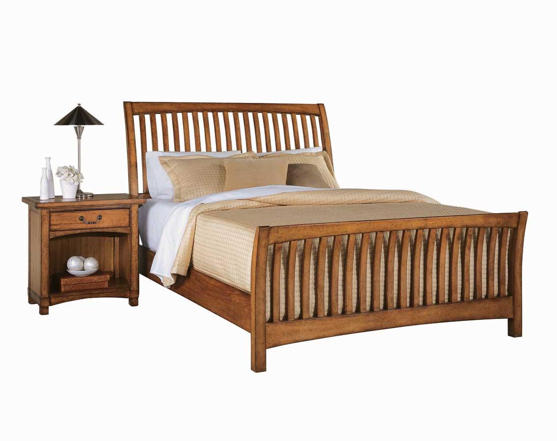 American Drew Beacon Ridge Slat Bed