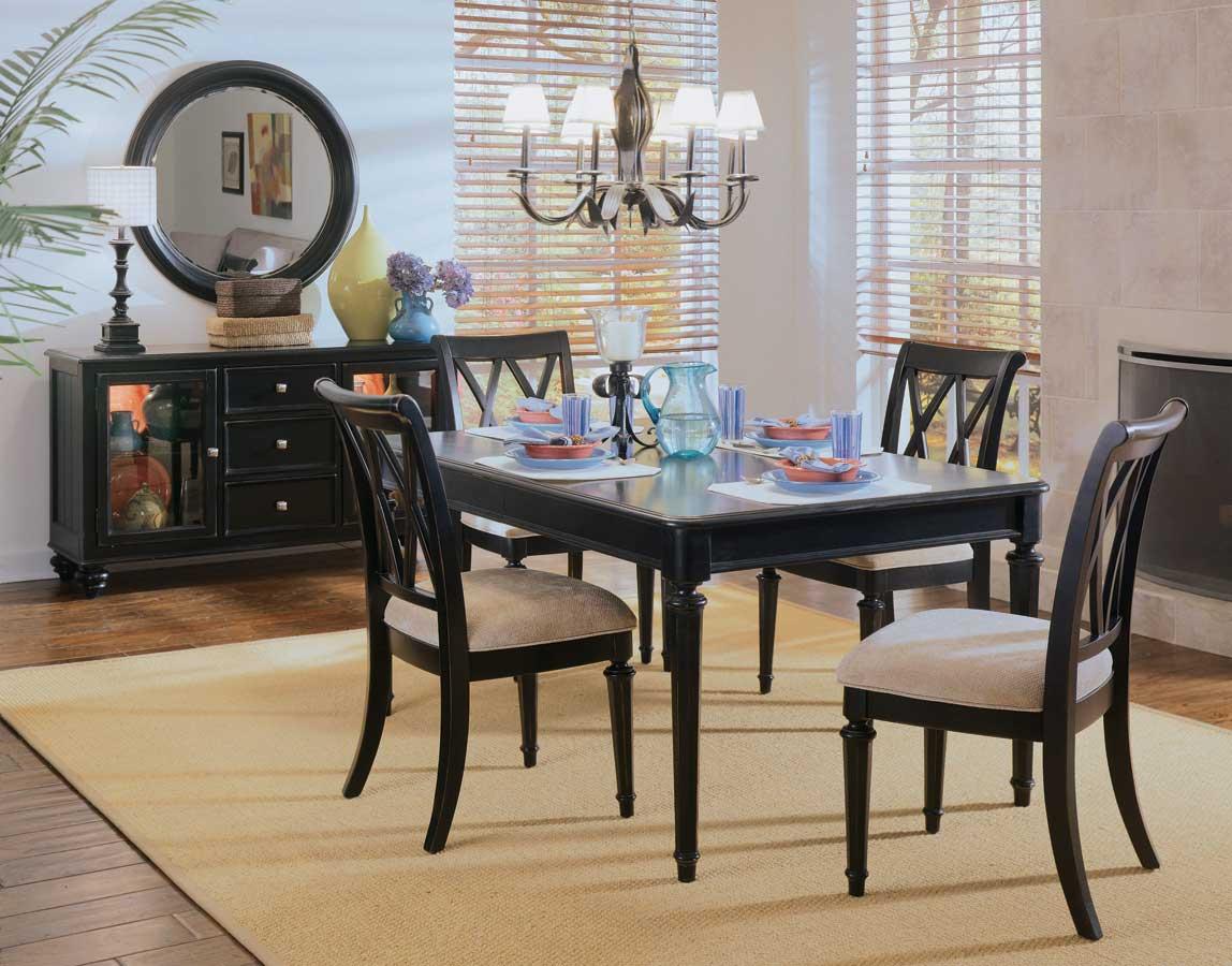American Drew Camden Dark Leg Dining Collection