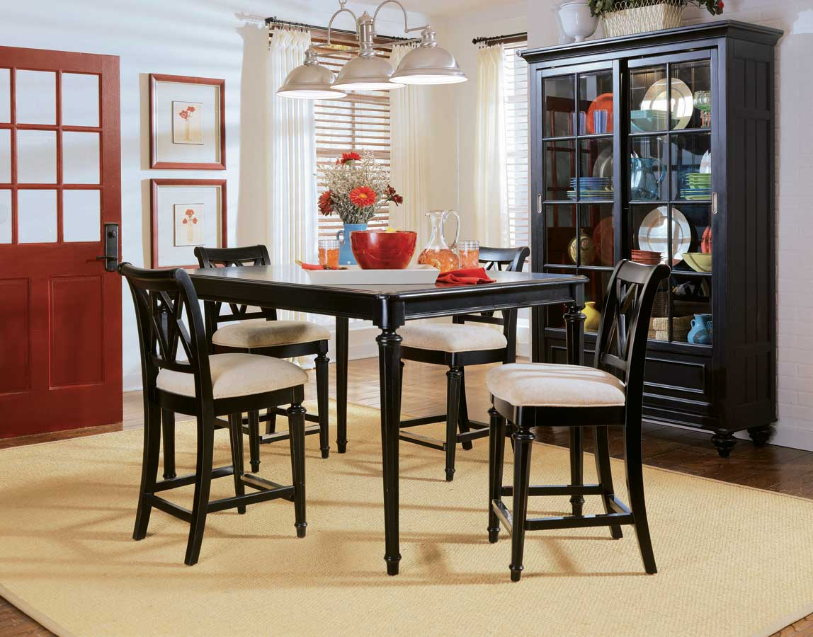 American Drew Camden Dark Gathering Table Dining Collection