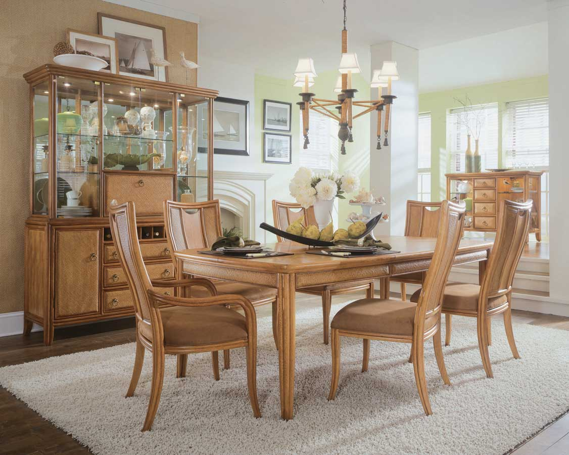 American Drew Antigua Leg Dining Collection