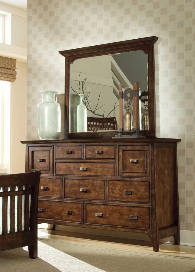 American Drew Cambria Landscape Mirror
