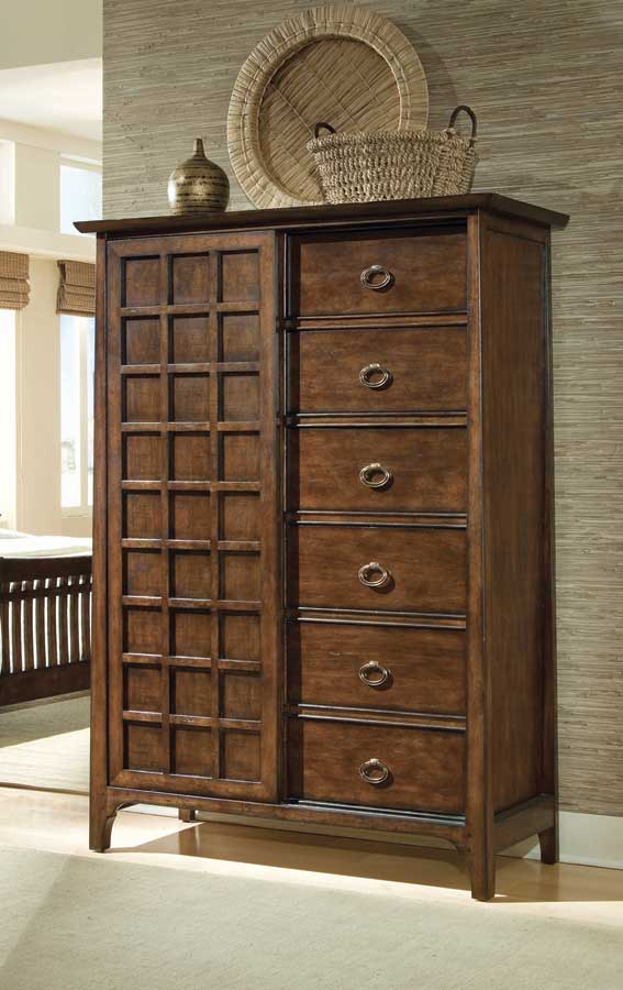 Superbe American Drew Cambria Sliding Door Armoire