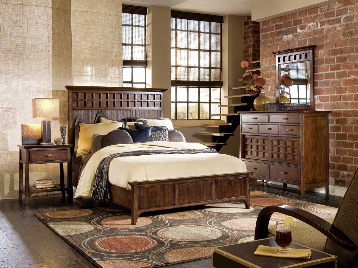 American Drew Cambria Panel Bedroom Collection