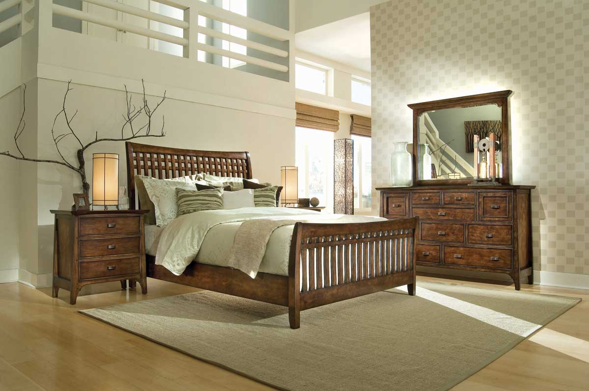 American Drew Cambria Slat Bedroom Collection