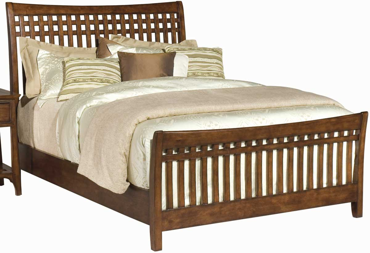 American Drew Cambria Slat Bed