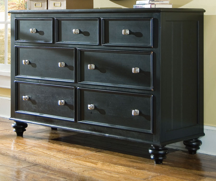 Cheap American Drew Camden Black Dresser