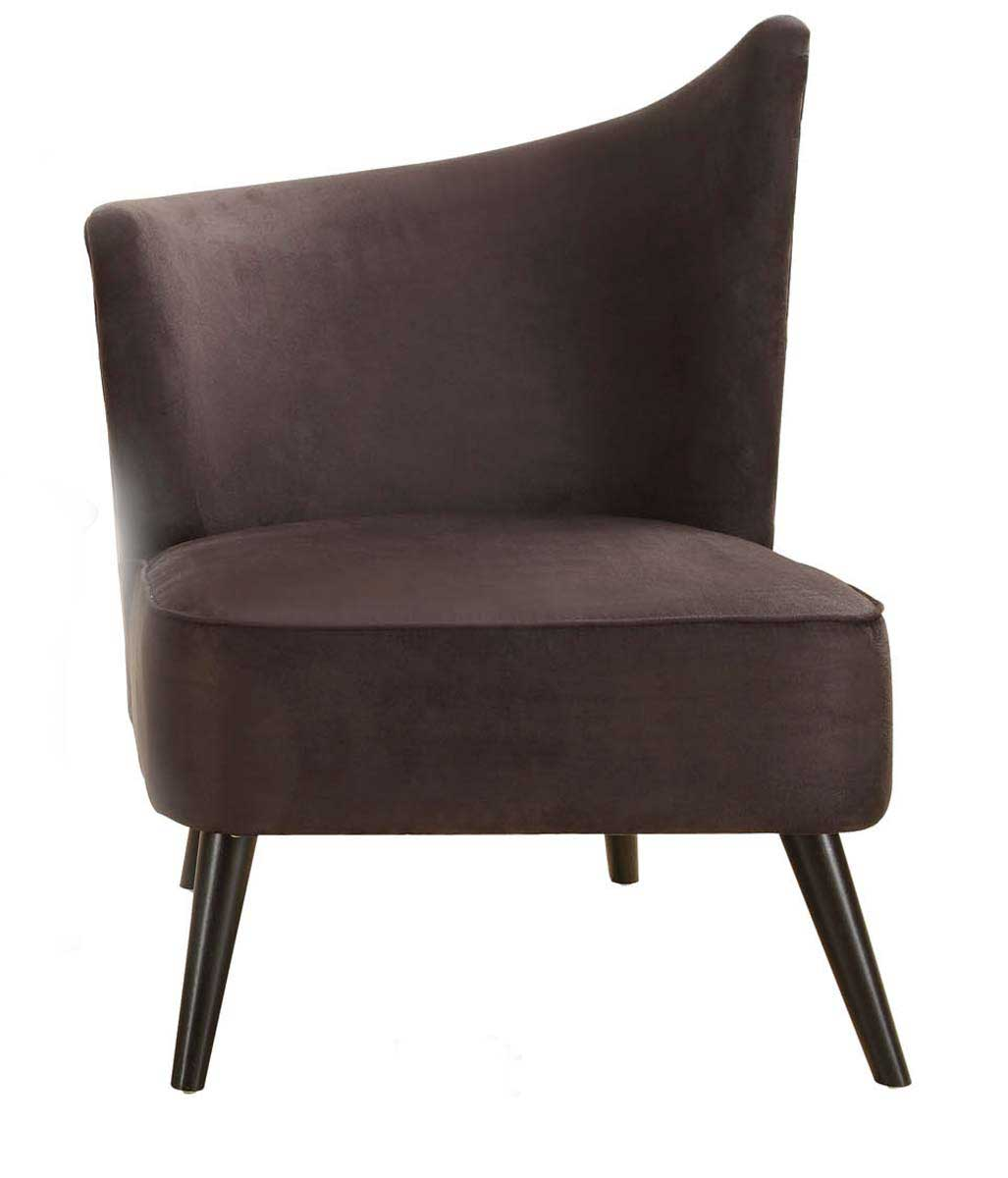 Armen Living Elegant Accent Chair - Black