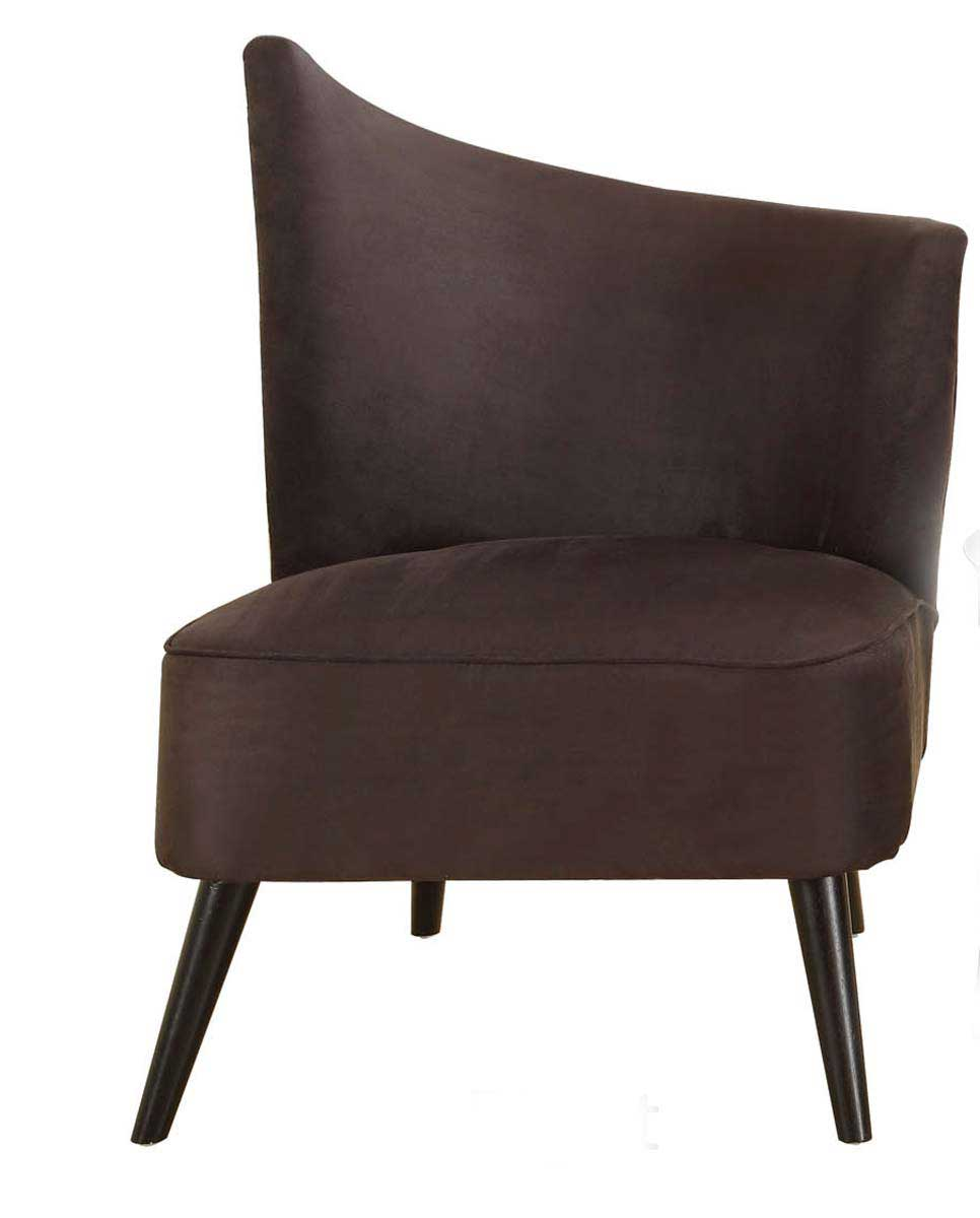 Armen Living Elegant Accent Chair - Black