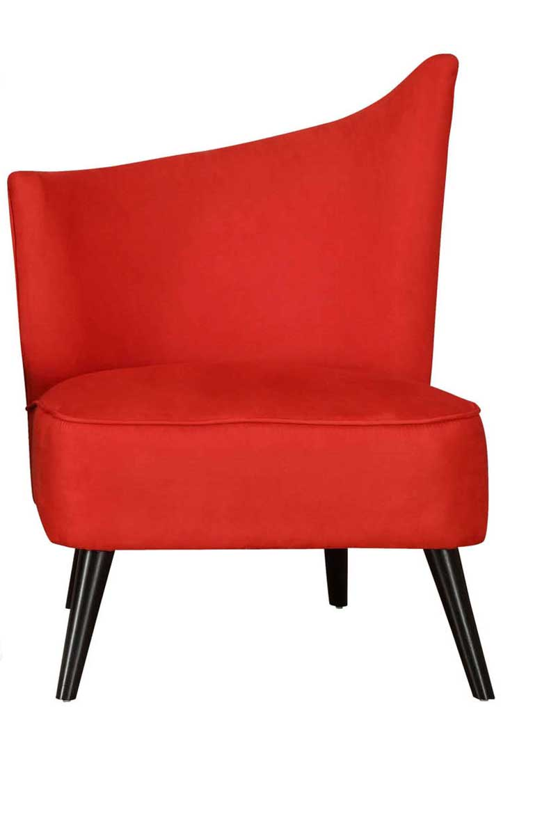 Armen Living Elegant Accent Chair - Red
