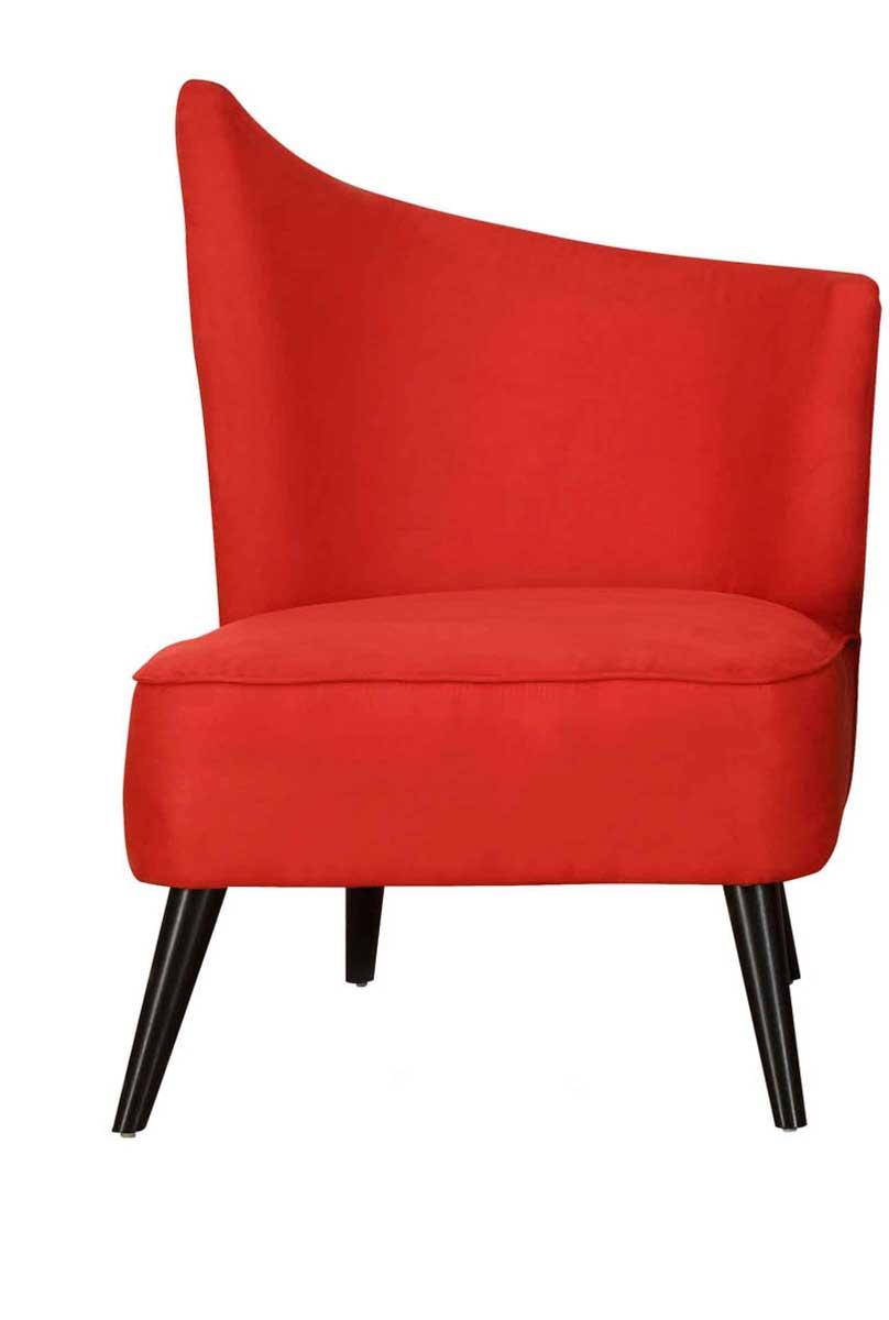 Armen Living Elegant Accent Chair - Red