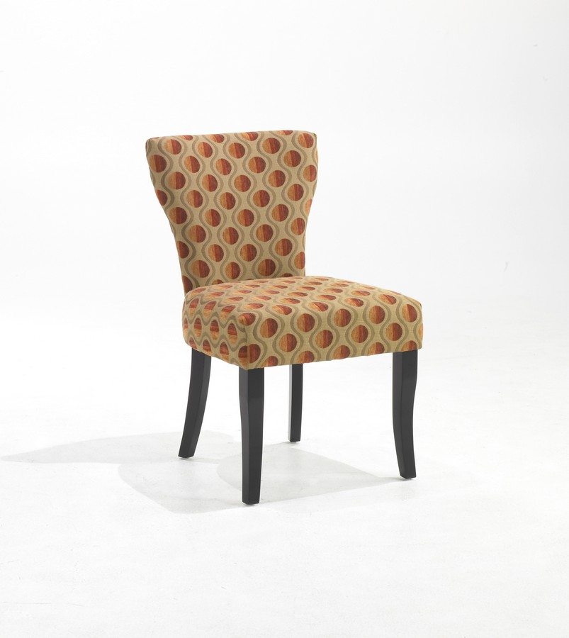 Armen Living Applause Fabric Side Chair