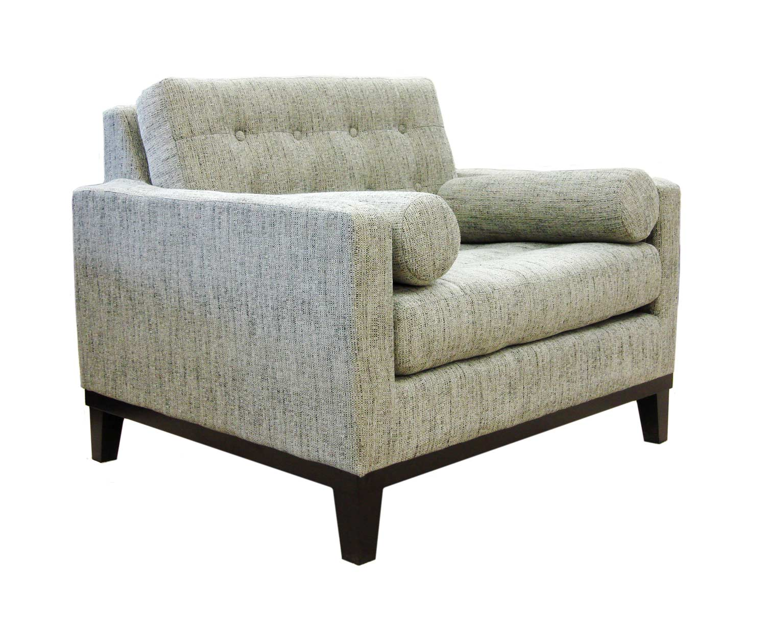 Armen Living Centennial Chair - Ash Fabric