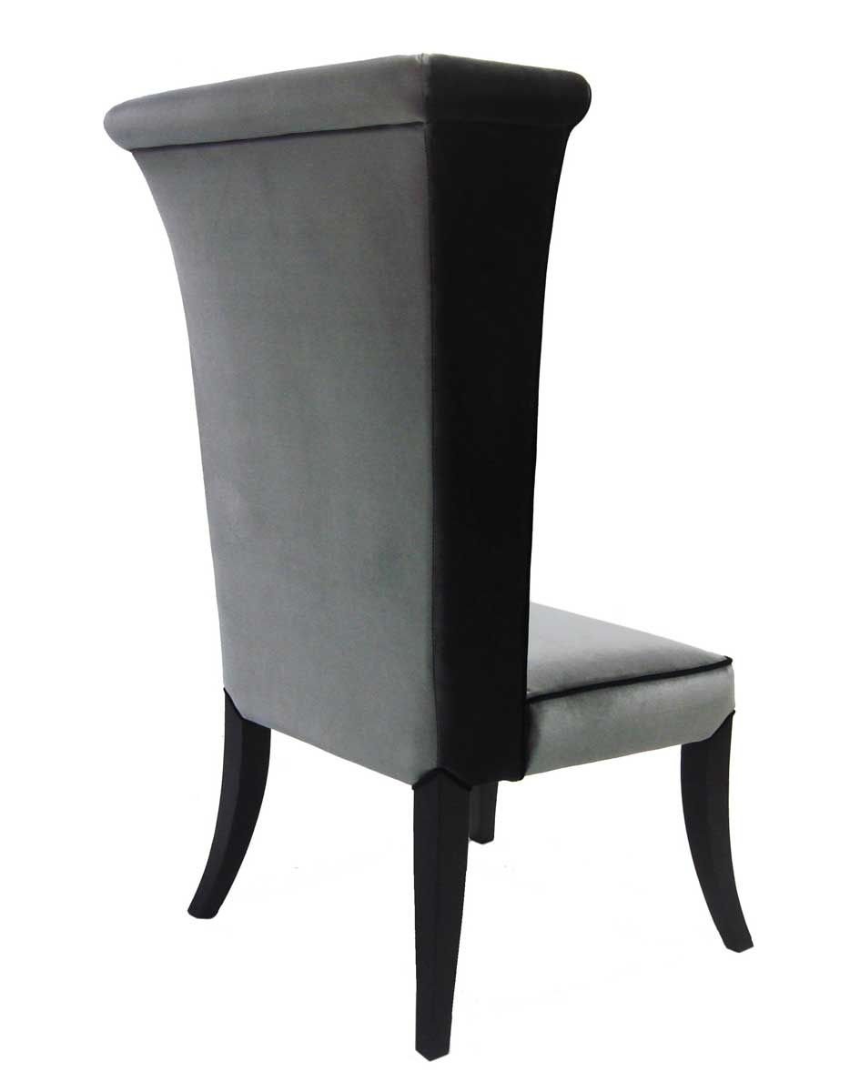 Armen Living Mad Hatter Dining Chair - Gray