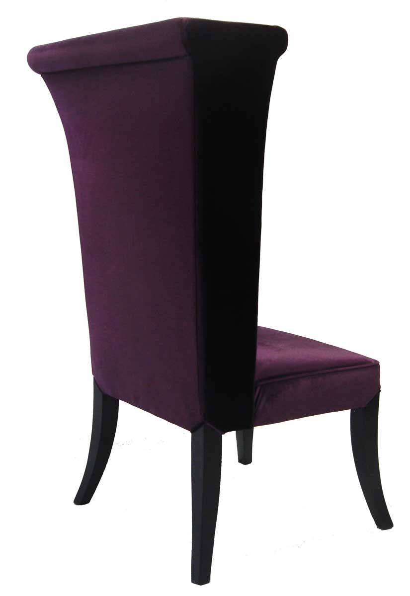 Armen Living Mad Hatter Dining Chair - Purple