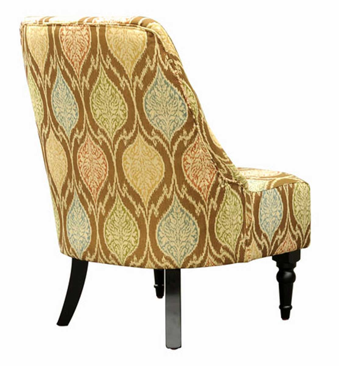 Armen Living Amelia Club Chair - Brown