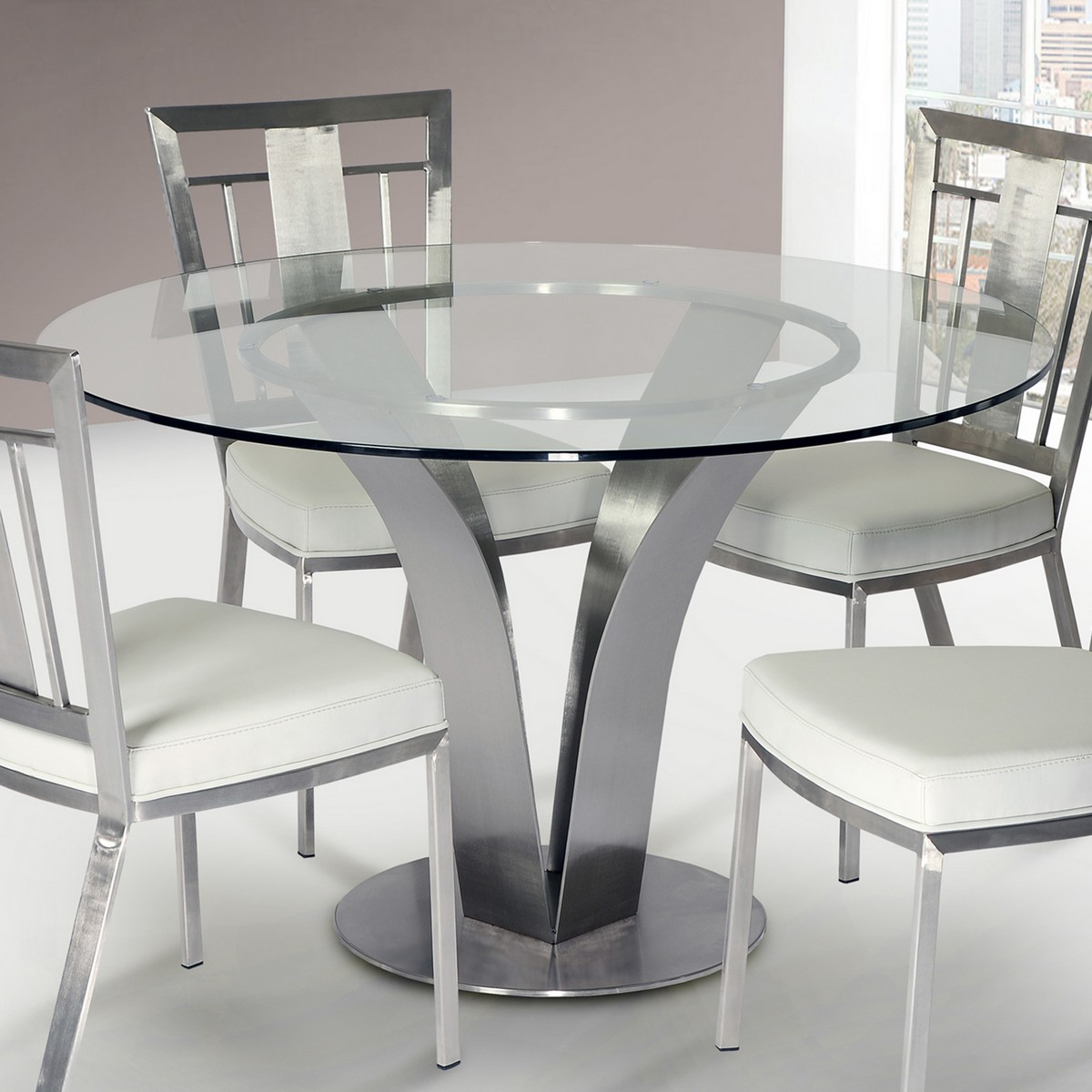 Clear Dining Room Table Clear Dining Chairs Overstock Commercial Seating Products Clear