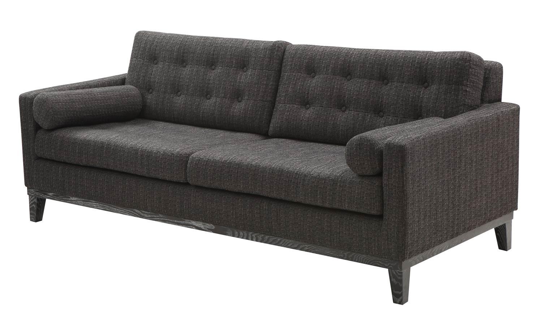 Armen Living Centennial Sofa Charcoal