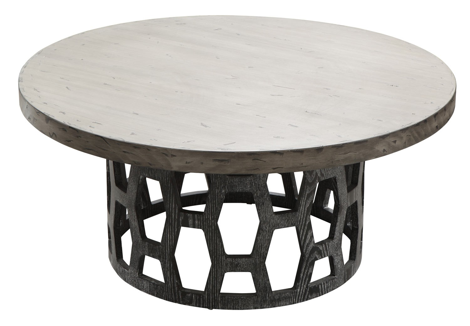 Armen Living Centennial Coffee Table - Gray